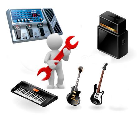 Мастерская по ремонту музыкального оборудования